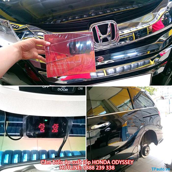 Lắp đặt cảm biến áp suất lốp Honda Odyssey
