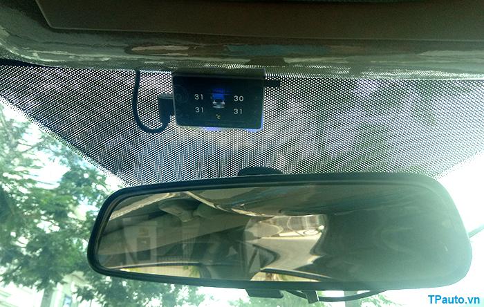 Lắp đặt cảm biến áp suất lốp trên xe Ford Ranger