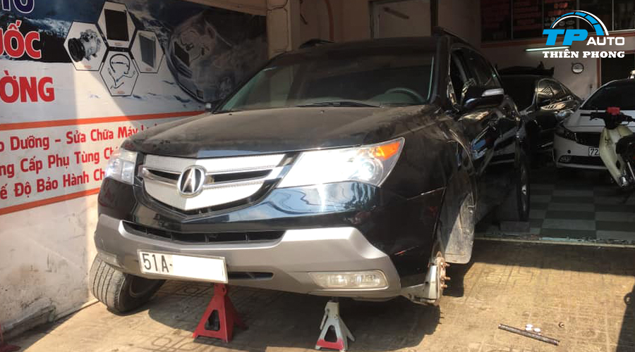 Lắp đặt cảm biến áp suất lốp Acura MDX 2007
