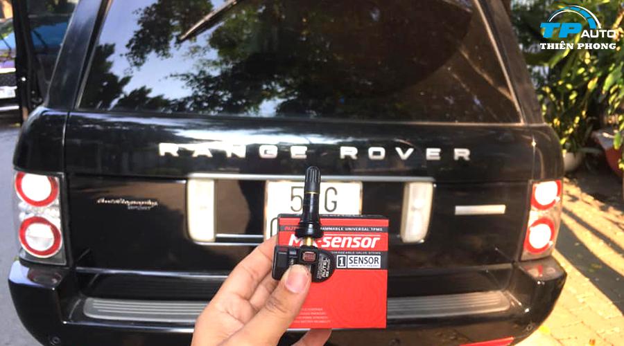 Cài đặt cảm biến áp suất lốp Range Rover L322 2010