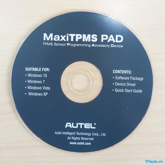 đĩa cd cài đặt phần mềm