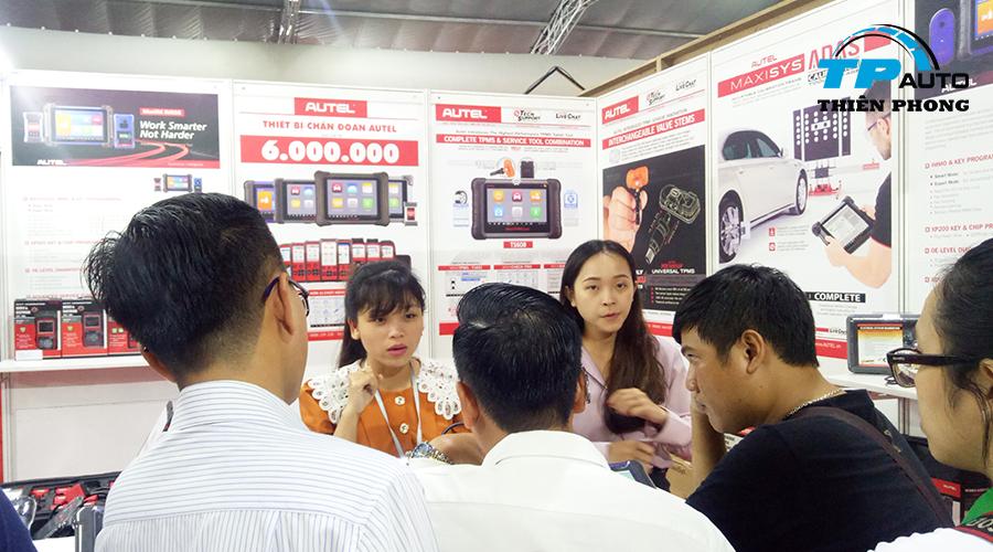 Hình ảnh gian hàng Autel tại triển lãm Vietnam Motor Show 2019